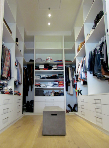 Main Bedroom walk in Closet