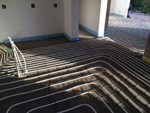 Underfloor heating_Construction