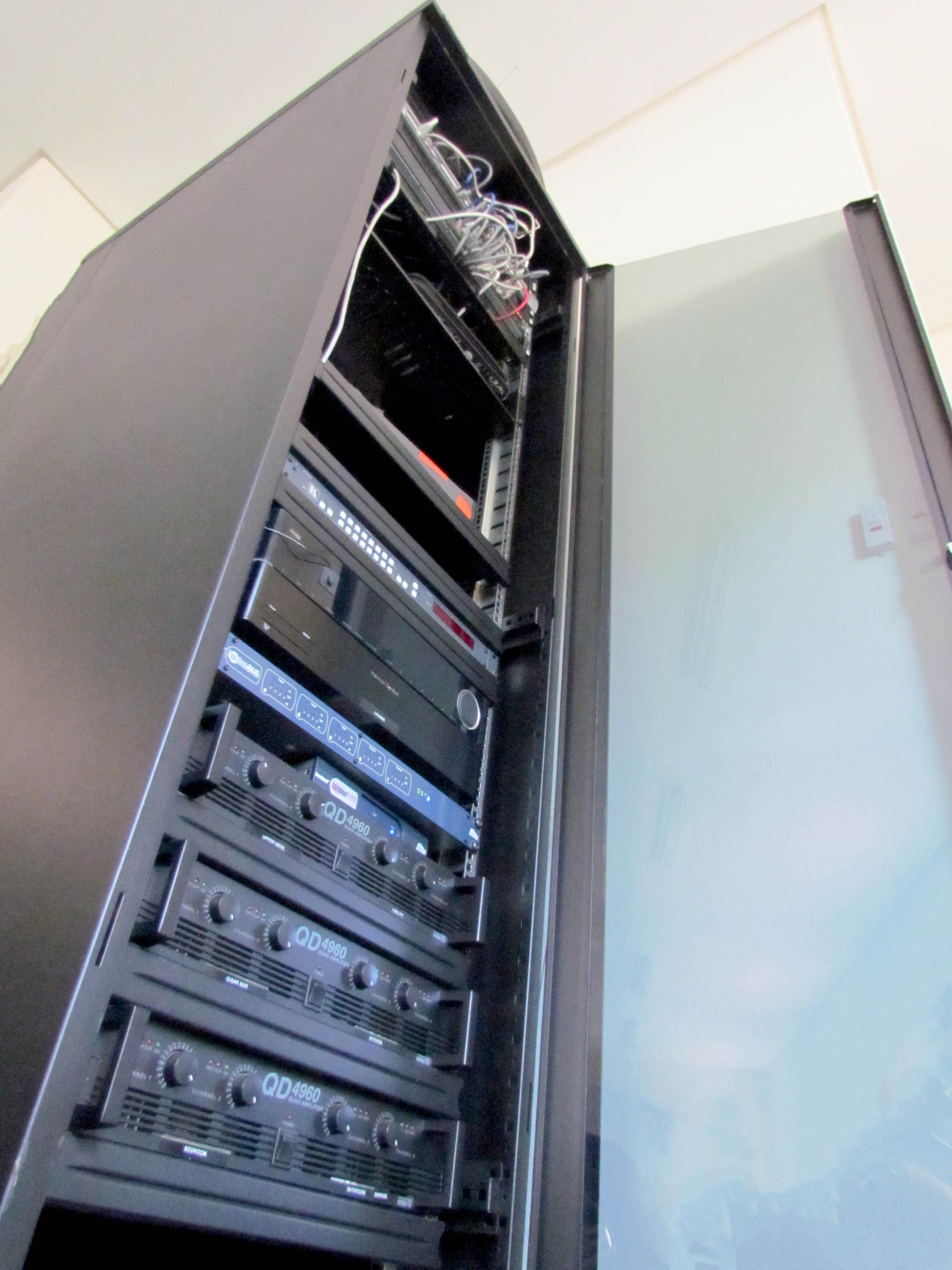 Audio Visual Server Cabinet