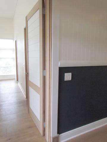 Solid wood bedroom doors