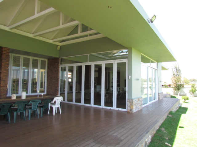 Outside view of the Lounge Area